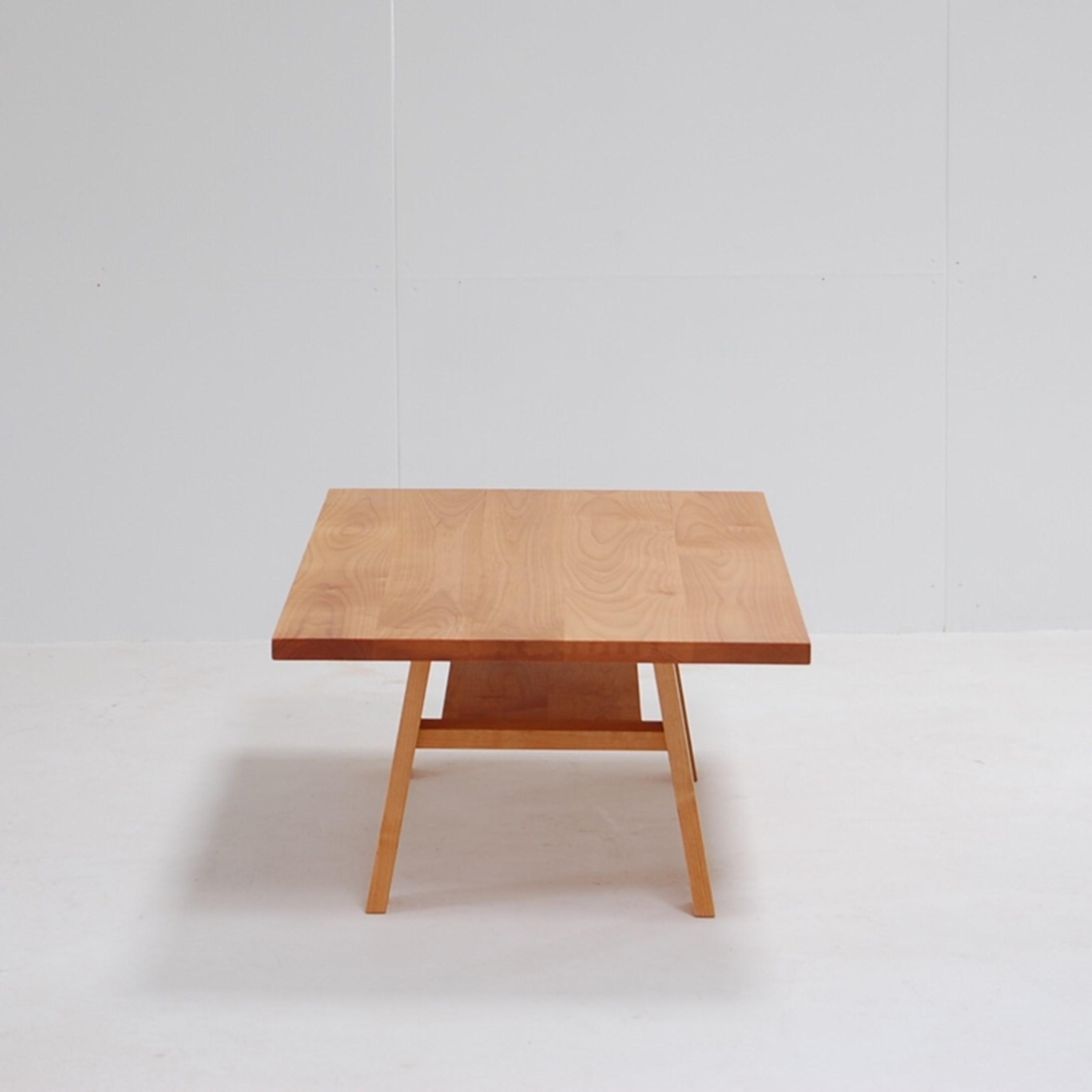 棚付きローテーブル