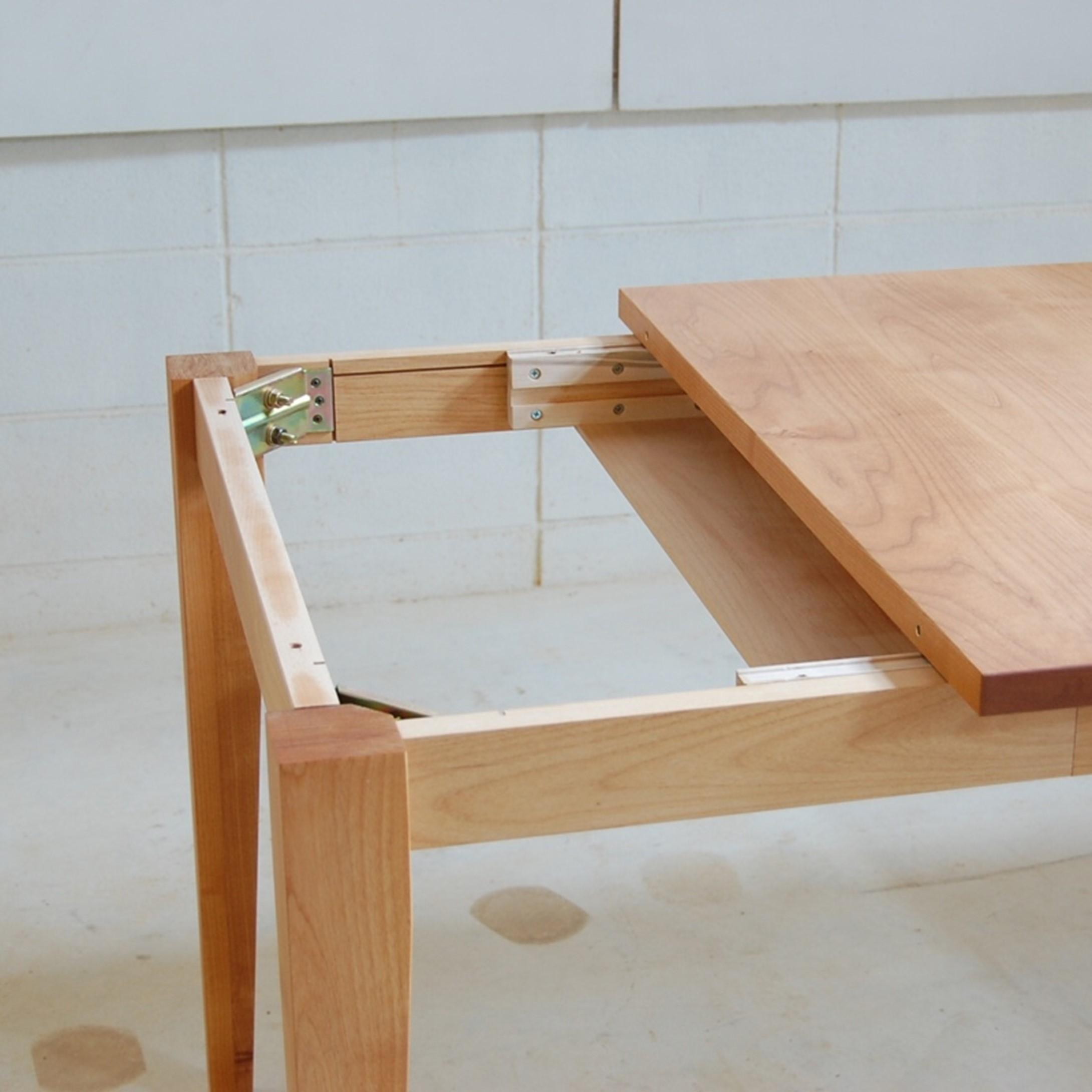 後乗せ伸長式ダイニングテーブル