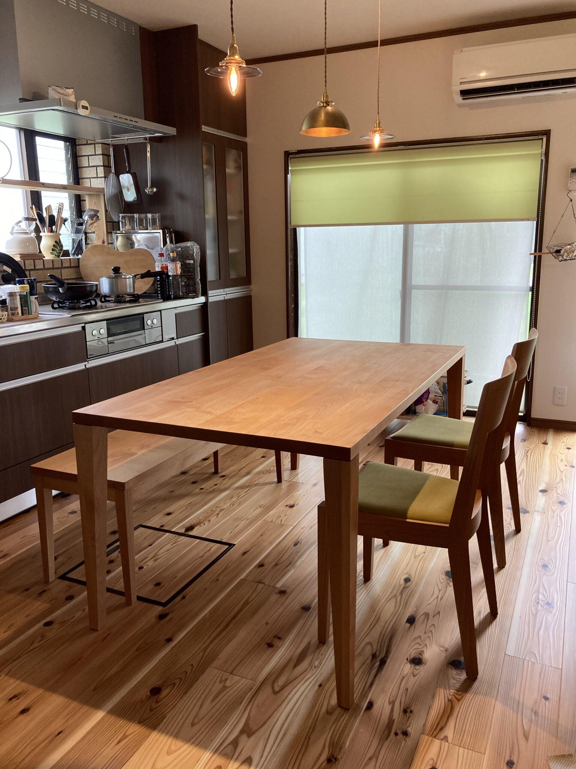 すっきりとしたキッチンの風景