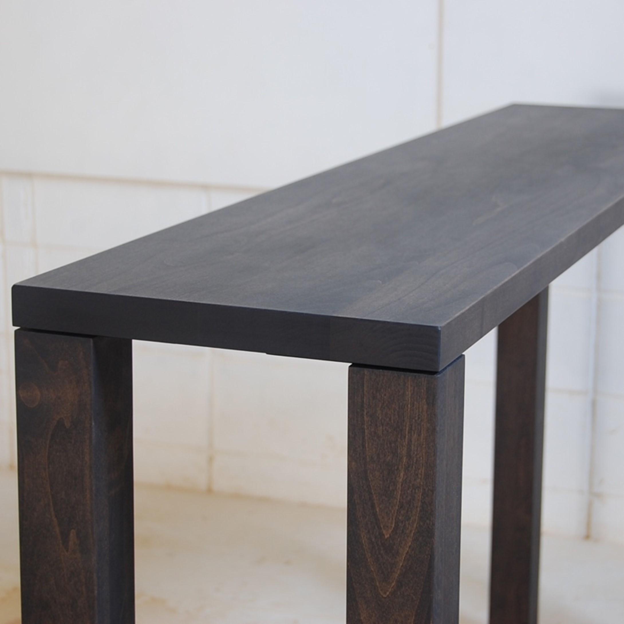 チャコール色のコンソールテーブル