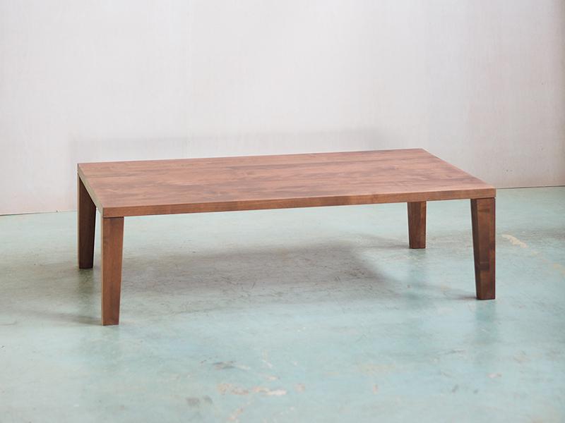 IXDT-DET1650TPL LT オイルブラウンのローテーブル